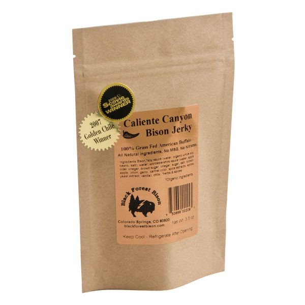 Caliente Canyon | 100% Grass Fed Wild Buffalo Meat