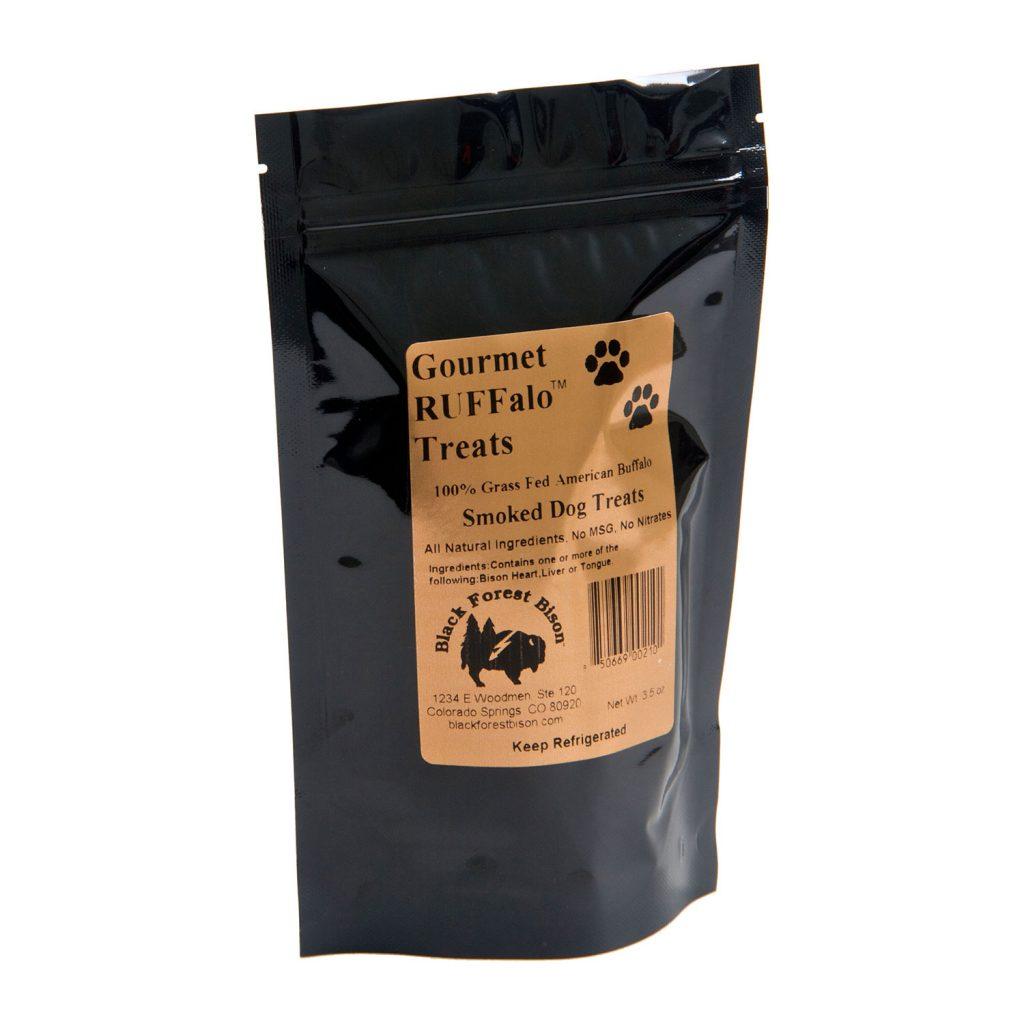 Gourmet RUFFalo Treats | 100% Grass Fed Bison Jerky