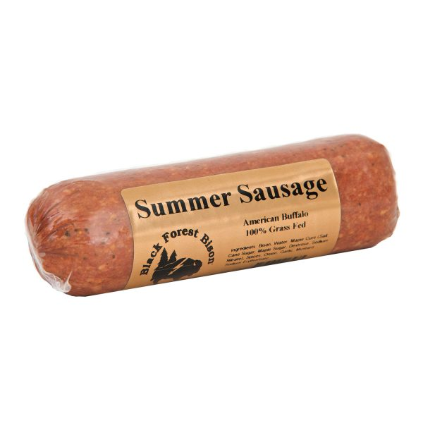 Traditional Bison Summer Sausage
